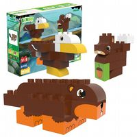 BiOBUDDi - Forest Beaver, Eagle & Squirrel - 27 Blocks